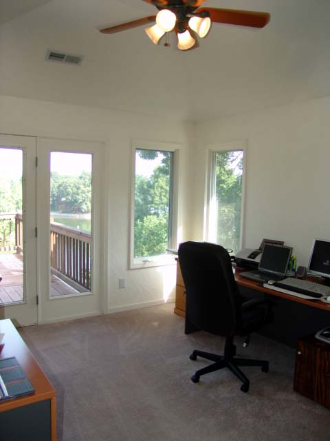 Office/Bedroom #2 Features Hip Roof/vaulted Ceilings And Adjoining Privacy Deck. : vaulted hip roof - memphite.com